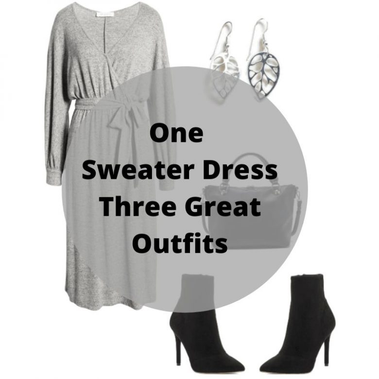 sweater dress outfits, fashion for women over 40