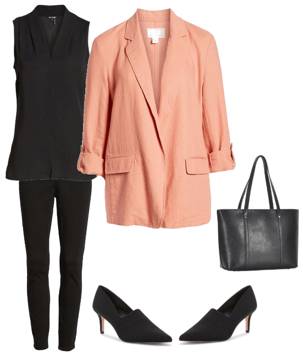 styling a blazer, work wear, fashion over 50, style blog for women