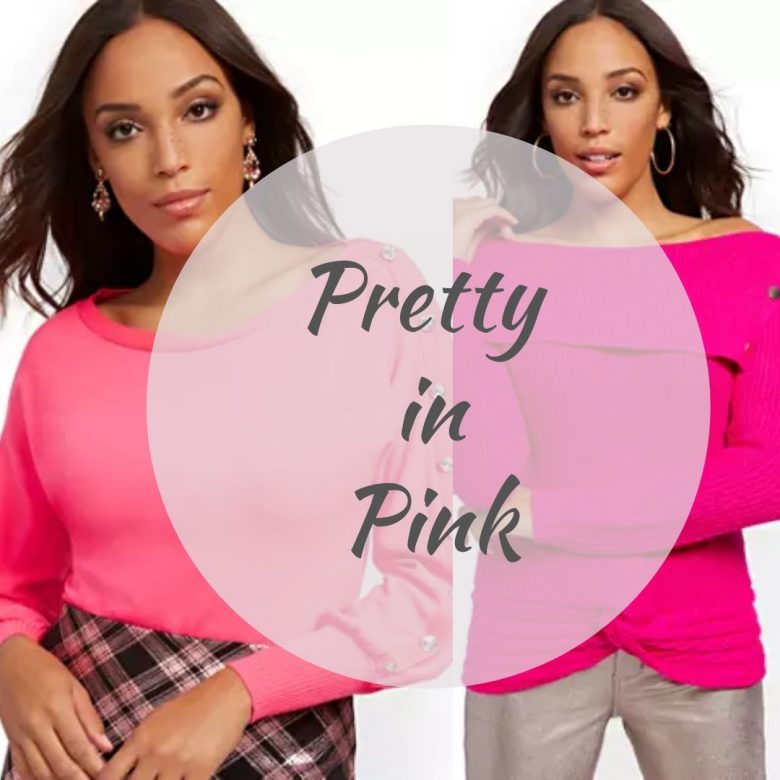 Affordable Pink Sweaters