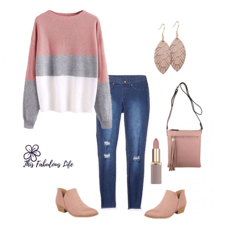 weekend outfit, casual style for women over 40