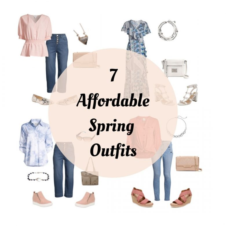 Affordable Spring Fashion for women over 40
