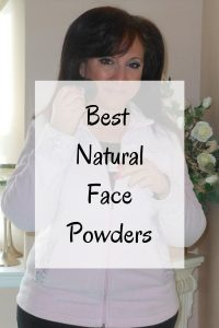 Natural Face Powders, Natural Beauty for women over 40