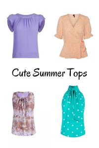 Summer tops for women over 40