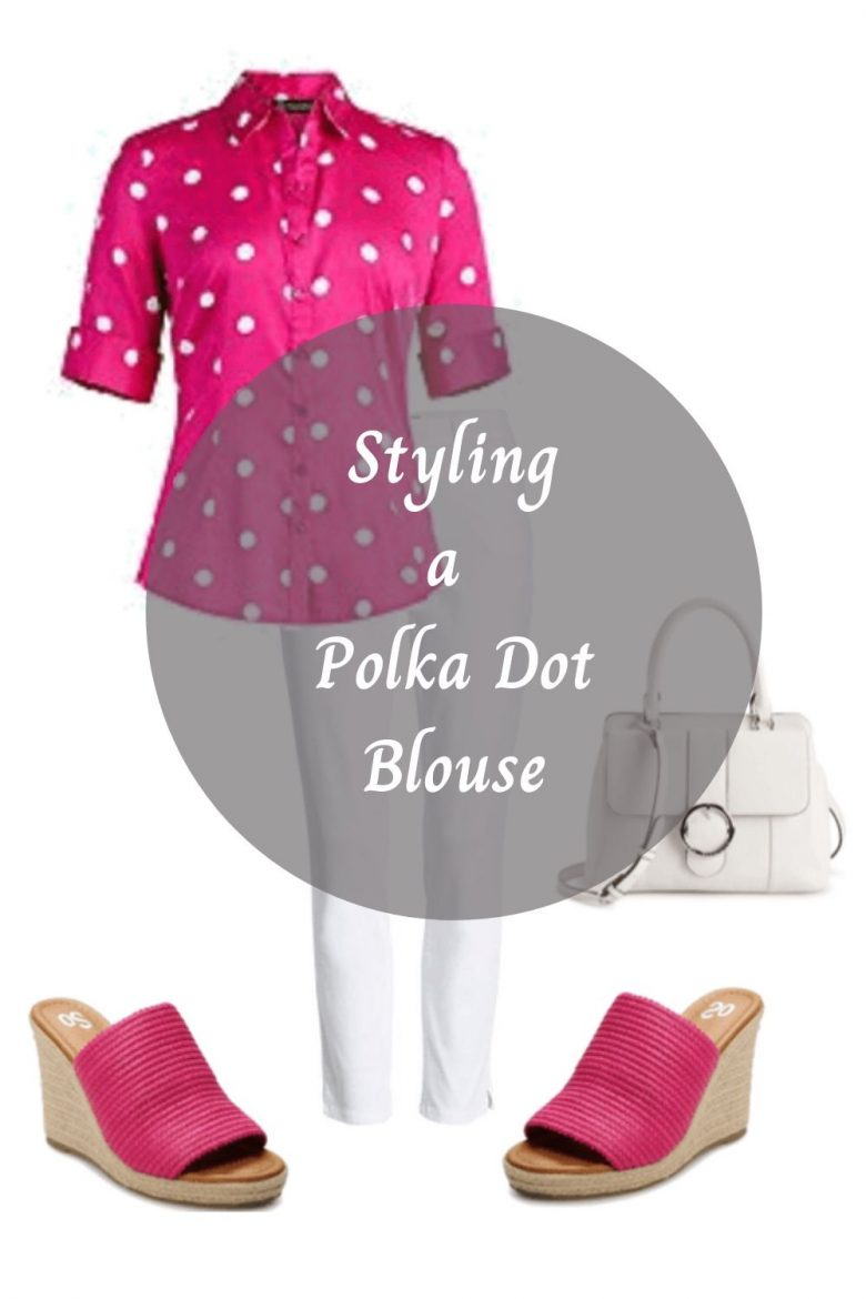 Trendy Polka Dots Blouse