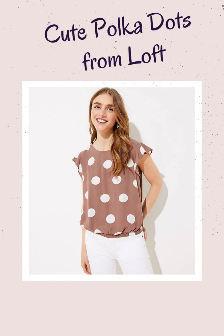 polka dots tops, Affordable Fashion for women