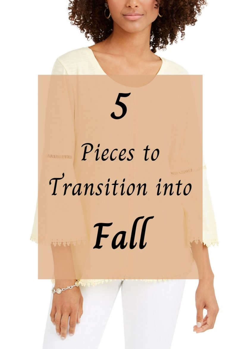 Transition into Fall, Fall fashion ideas for women
