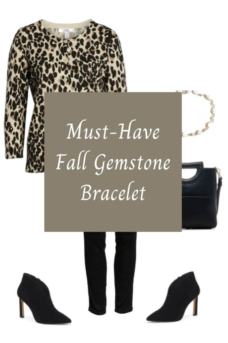 Fall fashion for Women, Must Have Gemstone Bracelet